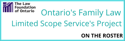 Ontario's Family Law Limited Scope Service's Project